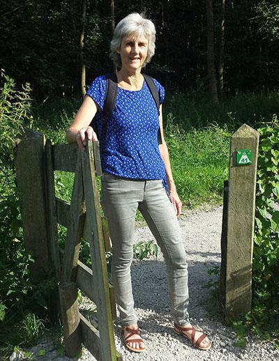 Sylvia Kooijman runt Uniek Yoga vanuit haar eigen studio in Almere