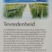 In de maand september gingen de deugdenyoga lessen over de deugd Tevredenheid bij Uniek Yoga in Almere Buiten