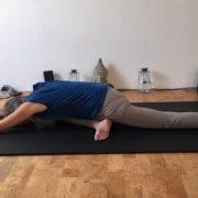 Uniek Yoga Sleeping Swan
